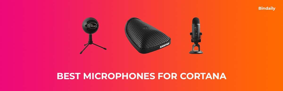 Best Microphones for Cortana