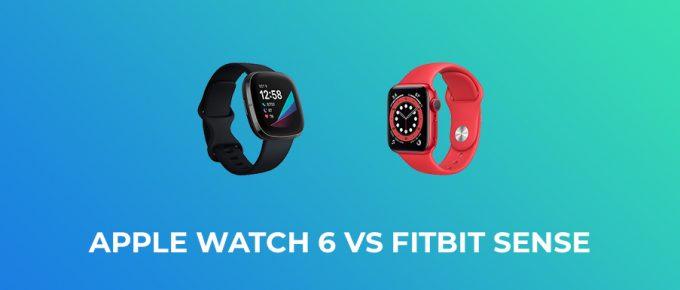 Apple Watch 6 vs Fitbit Sense