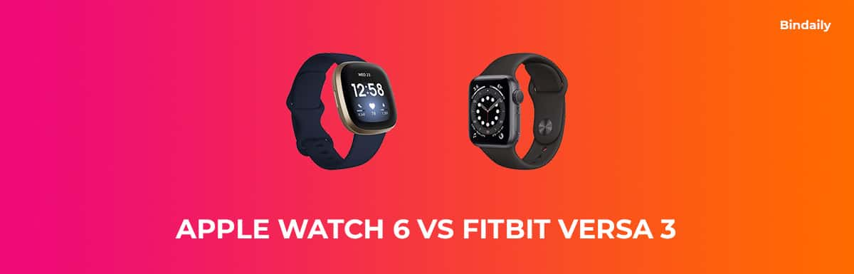 Apple Watch 6 vs Fitbit Versa 3