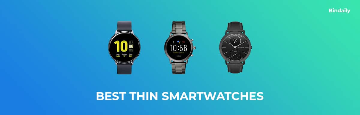 Best Thin Smartwatches