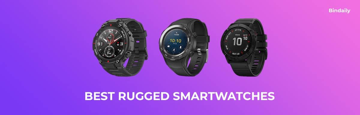 Best Rugged Smartwatches