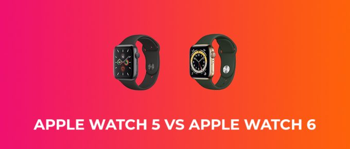 Apple Watch 5 vs Apple Watch 6