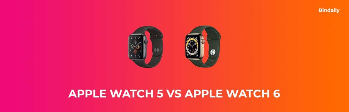 Apple Watch 5 vs Apple Watch 6